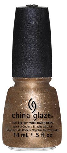 China Glaze Nail Lacquer, Goldie but ...