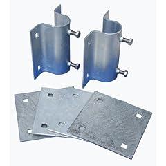 Buy Dock Edge Howell Dock Hardware Stationary Side Leg Holder Kit with 2 Side Leg Holders and 4 Backer Plates by Dock Edge