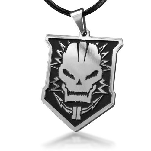 Call of Duty Black OPS2 Pendant Necklace