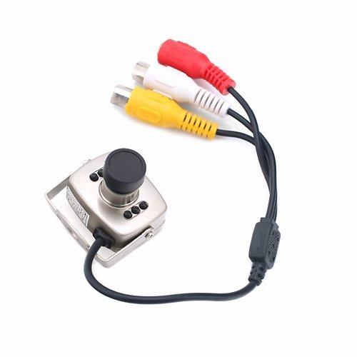 Hde - (Tm) 8Mm Mini Monochrome / Color Camera W/ Mount