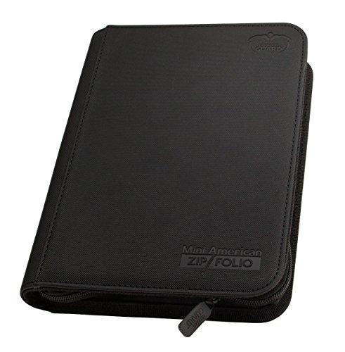 ultimate-guard-ugd010479-mini-american-9-pocket-zip-folio-xeno-skin-black