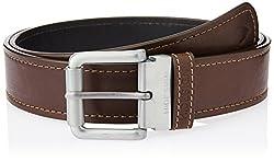 Hidesign Alanzo Brown Black Reversible Leather Men's Belt