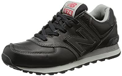new balance leather trainers