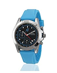 Yepme Mens Chronograph Watch - Black/Blue_YPMWATCH1748