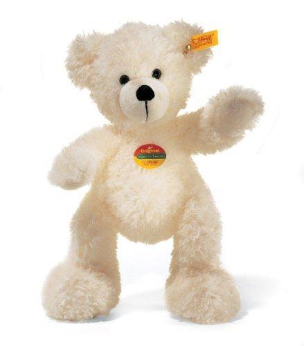 シュタイフ テディーベア ロッテ 28cm ぬいぐるみ 人形 Steiff Lotte Teddy Bear (White)  111310 並行輸入品