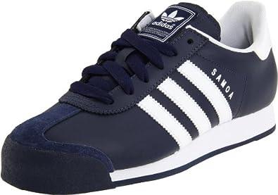 Amazon.com: adidas Originals Men's Samoa Leather Retro Sneaker: Shoes