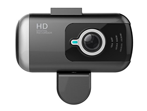 Black Box DV2 Dual Lens GPS Dash Camera - Full HD 1080P Covert Mini Video Car DVR - 170° Super Wide Angle 6G Lens with G-Sensor, WDR Night Vision, Motion Detection (64GB Capacity) (Car Black Box Dual Camera compare prices)