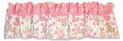 Pink Paisley Bedding 8819 front