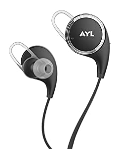 AYL Bluetooth Headphones V4.1 Wireless Sport Stereo In-Ear Noise Cancelling Sweatproof Headset with APT-X/Mic for iPhone 6s Plus Samsung Galaxy S6 S5 and Android Phones