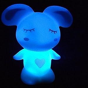 MashiMaro Shape 7 Color Change Decoration LED Night Lamp by Viskey