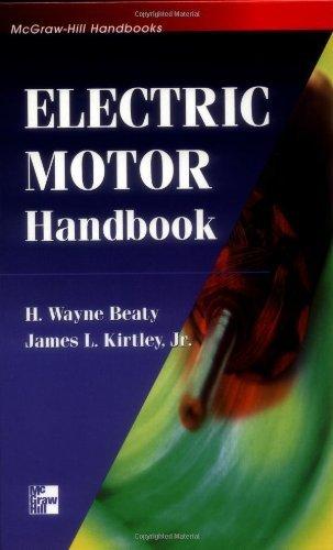 Electric Motor Handbook: 1St (First) Edition