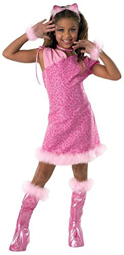 Rubies Drama Girls Alley Cat Child Costume Size Tween Medium 2-4 Pink
