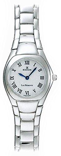Edox Les Bémonts Ultra Slim relojes mujer 28109-3P-BRBU
