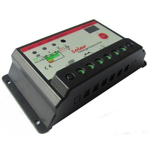 Smakn® 12V/24V 30 Amp Pwm Charge Controller Regulator Off Grid For Battery Charging