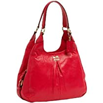 Hot Sale Coach 21225 Leather Madison Maggie Hobo Handbag Punch Pink