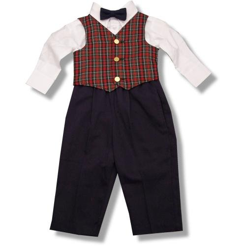 Buy Imp Originals Toddler Boys Holiday Plaid Vest Set