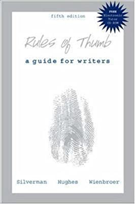 Rules of Thumb with Electronic Tutor CD-ROM (English)