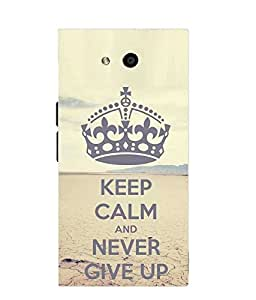 Make My Print Slogan Printed Multicolor Soft Silicon Back Cover For LYF Wind 4