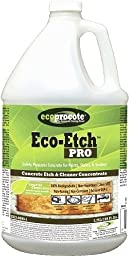 Eco-Etch Pro EE3-8000-1 Concrete Etching & Cleaner, 1 Gal