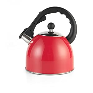 Swan 2.5Litre Red Stove Top Kettle from Swan