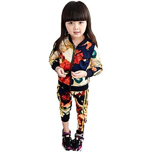 moli&hani 아동복 소녀 스웨트 트레이너 셔츠 파커 아이 팬츠 셋업 총무늬 컬러풀 플라워 스포츠‐웨어 오리지날 엘레강트(elegant) 팔찌 세트-
