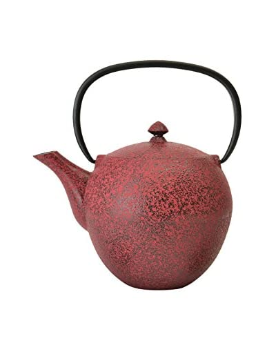 BergHOFF Studio 1.06-Qt. Cast Iron Teapot, Red