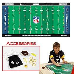 NFLR Licensed Finger FootballT Game Mat - Seahawks. Product Category: Toys & Games > Finger FootballT > NFL NFC