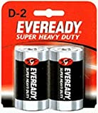 Eveready Heavy Duty D 2-Count (6-Pack)