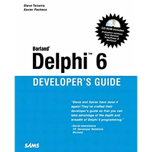 Borland Delphi 6 Developer's Guide (Sams Developer's Guides)