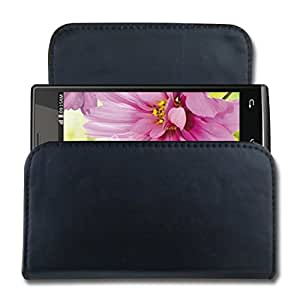 CaseCart Leather Water Resistant Pouch for LAVA iris Pro 20