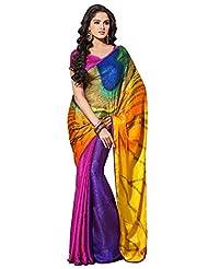 CSE Bazaar Women Indian Beautiful Fancy Sari Ladies Party Wear Exclusive Saree
