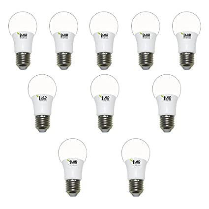 Imperial 3W E27 3639 LED Premium Bulb (Warm White, Pack of 10)