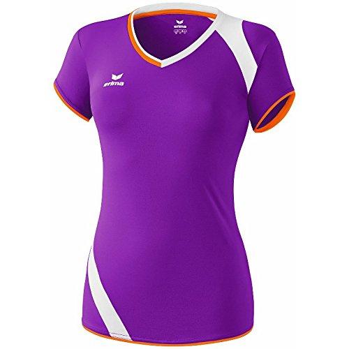 ERIMA Frauen Granada Tank Top Damen Volleyball purple/orange/weiß, Größe: 42, Frauen