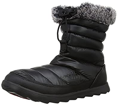 The North Face Womens Micro Baffle Snow Boots T0A0Y4ZT1 Shine Black/Black 4 UK, 37 EU, 6 US Wide