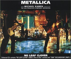 Metallica - No Leaf Clover, Pt. 1 - Zortam Music