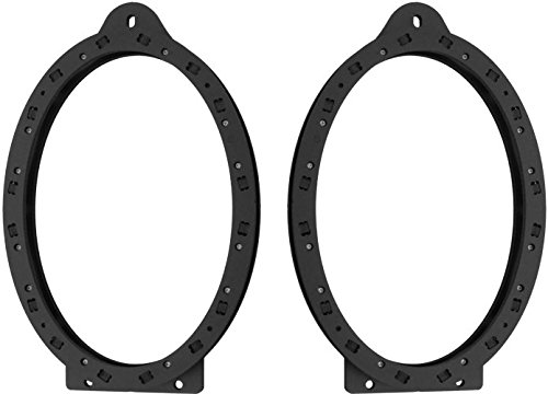 2010-2015 Chevy Chevrolet Camaro Rear Deck Speaker Adapter Spacer Rings - SAK067_69 - 1 Pair (Camaro Adapter compare prices)