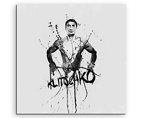 Paul Sinus Art 60 x 60 - Vladimir-Klitschko_ SA quadro tela, 90 x 50 x 3 cm, multicolore
