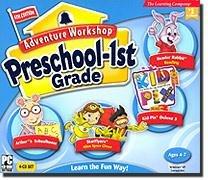 Riverdeep Interactive 10019 Adventure Workshop 6 Preschool-1st Grade