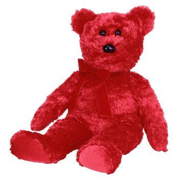 TY Beanie Buddy - SIZZLE the Bear - 1