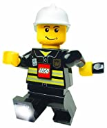 Lego Lights Dynamo Torch - Fireman