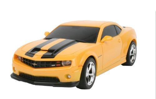 1/18 Scale 2011 Chevrolet Camaro RS SS Yellow w/ Black Stripes Radio Remote Control Car RC (Camaro Car compare prices)