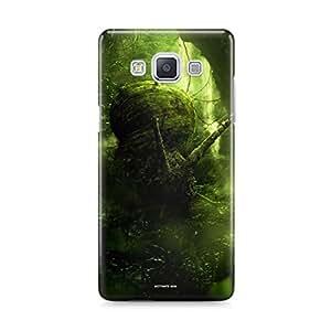 Motivatebox - Samsung Galaxy E5 Back Cover - Cigerette Gun Polycarbonate 3D Hard case protective back cover. Premium Quality designer Printed 3D Matte finish hard case back cover.