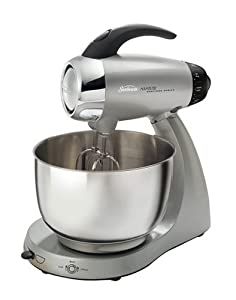 Sunbeam 2347-030 Heritage Series 12-Speed Stand Mixer, Silver