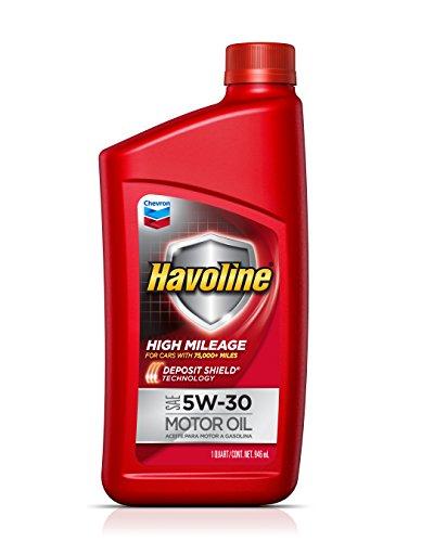 Havoline 223681720 5W-30 High Mileage Motor Oil