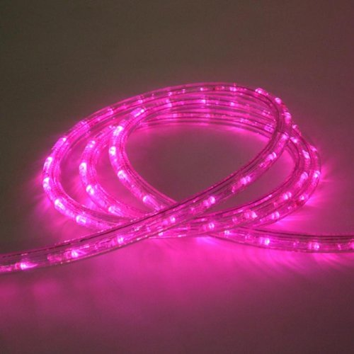 "Cbconcept® 120Vlr25Ft-P Pink 25 Feet 110V-120V 2-Wire 1/2"" Led Rope Light, Christmas Lighting, Indoor / Outdoor Rope Lighting front-739247"
