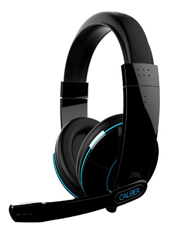 Ifrogz Cal-Stealt Caliber Stealth Mobile Gaming Headphones With Mic, Black
