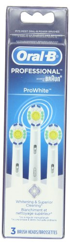 Oral-B Professional Prowhite Replacement Brush Head, 3 Count
