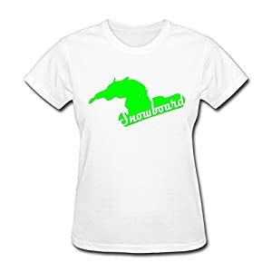 Snowboard T-Shirt For Womens,Cute T-Shirt