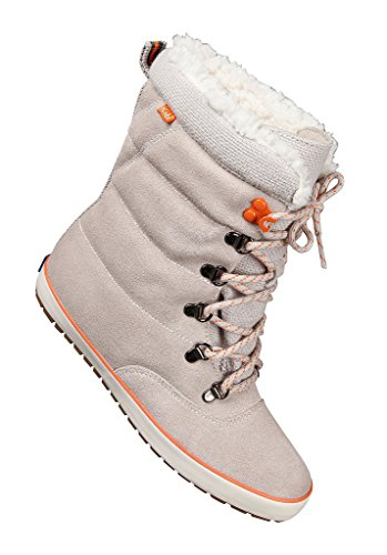 KedsCream Puff Leather Boot tan - Stivaletti donna , Grigio (grigio), 41