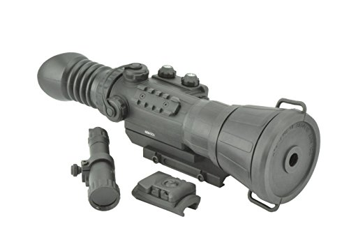 Armasight Vulcan 6X Ghost Mg Compact Professional Night Vision Rifle Scope Gen 3 Ghost White Phosphor With Manual Gain